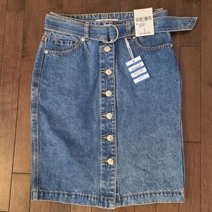 NWT XXI Contemporary Jean Skirt